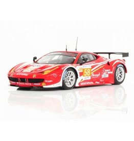 Ferrari Ferrari 458 Italia 8C GTE #58 AM Team Luxury Racing  24h Le Mans 2012 - 1:43 - TrueScale Miniatures