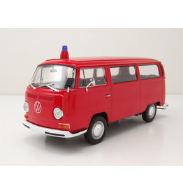 Volkswagen Volkswagen T2 Bus 'Fire Department' 1972 - 1:24 - Welly