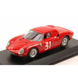 Ferrari Ferrari 250 LM RHD #31 Scuderia Filipinetti Coppa Inter Europa Winner GP Monza 1964 - 1:43 - Best Model