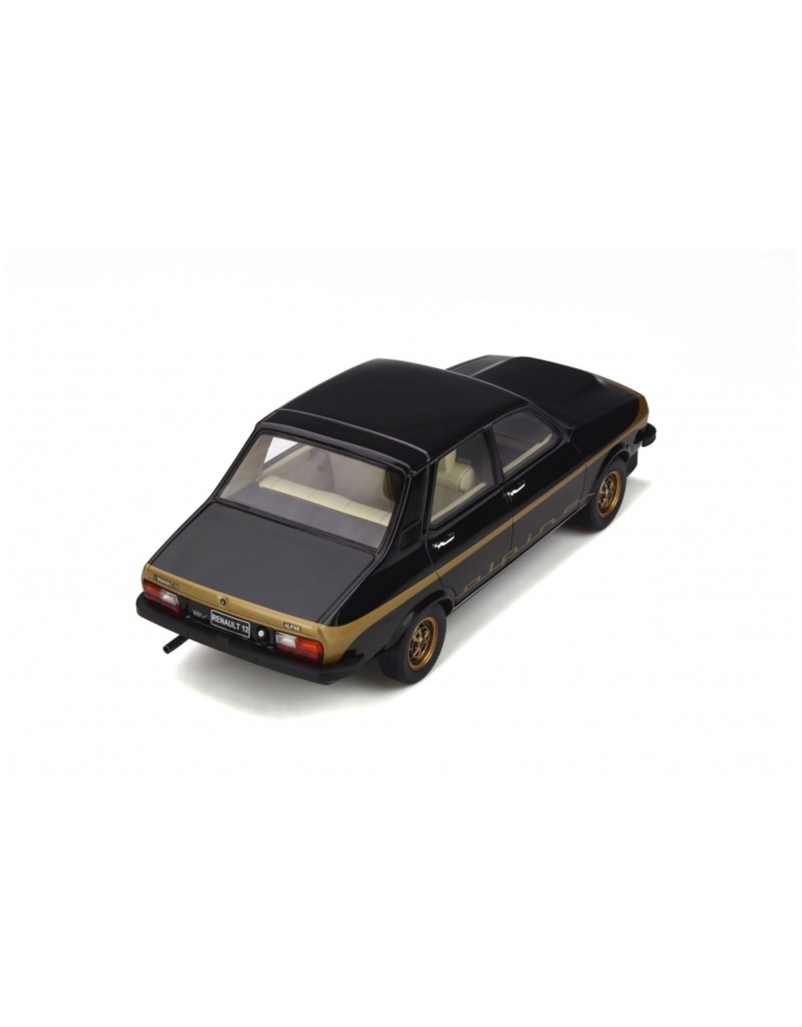 Renault Renault  R 12 Alpine 1978 - 1:18 - Otto Mobile Models