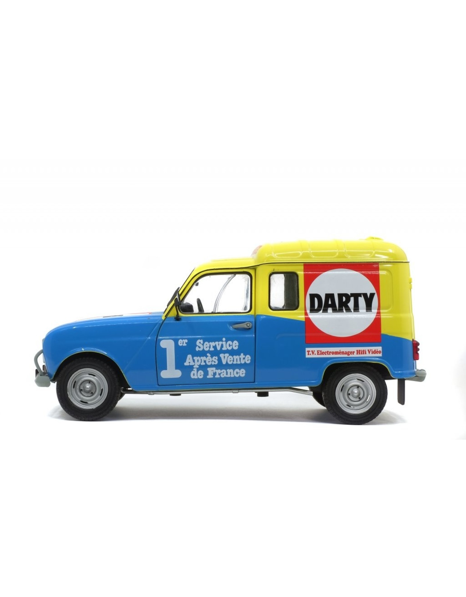 Renault Renault 4 F4 Darty 1988 - 1:18 - Solido