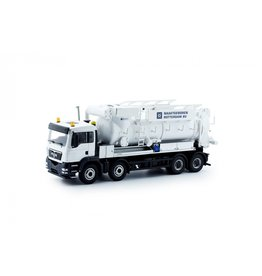 MAN MAN TGX Rigid Truck 4 axle Vacuum-Press Truck 'Naaktgeboren'  - 1:50 - Tekno