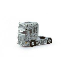 Scania Scania R Serie Topline Tractor 4x2 'Perrotti - The Joker' - 1:50 - Tekno