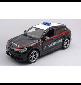 Alfa Romeo Alfa Romeo Stelvio Carabinieri 2017 - 1:24 - Bburago