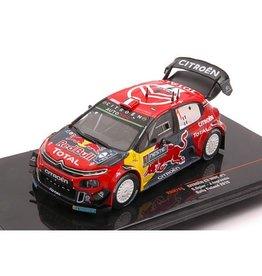 Citroen Citroen C3 WRC #1 Red Bull Rally Finland 2019 - 1:43 - IXO Models