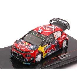Citroen Citroen C3 WRC #4 Red Bull Rally Finland 2019 - 1:43 - IXO Models