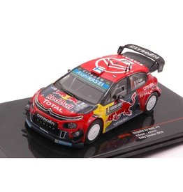 Citroen Citroen C3 WRC #4 Red Bull 2nd Rally Sweden 2019 - 1:43 - IXO Models