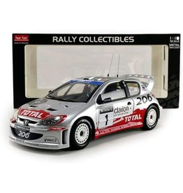 Peugeot Peugeot 206 WRC #1 Rally of Great Britain 2002 - 1:18 - Sun Star