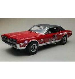 Mercury Mercury Cougar Racing #21 SVRA Watkins Glen Enduro 200 1967 - 1:18 - Sun Star