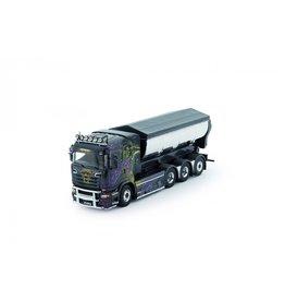 Scania Scania R-Serie Rigid Truck + Hookarm Container 'Gahne Akeri' - 1:50 - Tekno