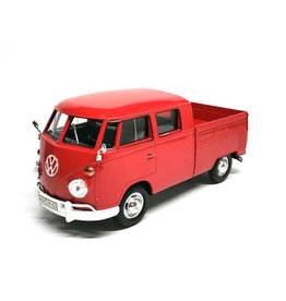 Volkswagen Volkswagen T1 Type 2 Double Cab Pick-Up - 1:24 - Motor Max