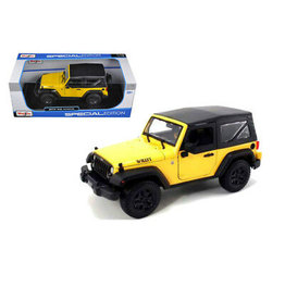 Jeep Jeep Wrangler Soft Top 2014 - 1:18 - Maisto