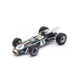 Formule 1 Formule 1 Brabham BT24 #3 GP South Africa 1968 - 1:18 - Spark