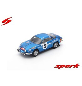 Alpine Alpine A110 #9 2nd Rally Monte Carlo 1971 - 1:43 - Spark