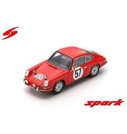 Porsche Porsche 911S #57 Rally Monte Carlo 1966 - 1:43 - Spark