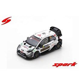 Toyota Toyota Yaris WRC #10 Latvala Motorsport OY Rally Sweden 2020 - 1:43 - Spark