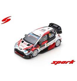 Toyota Toyota Yaris WRC #69 Toyota Gazoo Racing Rally Monte Carlo 2020 - 1:43 - Spark