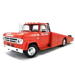 Dodge Dodge D-300 Truck Ramp Car Transporter 1970 - 1:18 - ACME