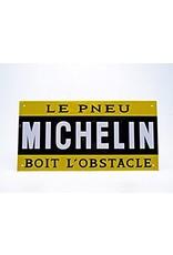 Blikken bord Tin Plate Michelin (28 cm x 14 cm)
