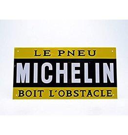Blikken bord Blikken Bord Michelin (28 cm x 14 cm)