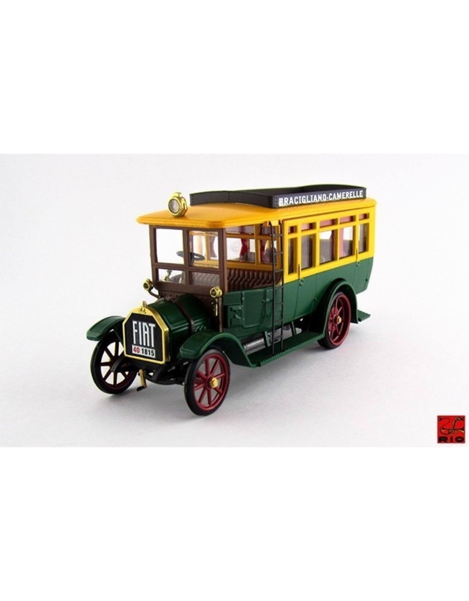 Fiat Fiat 18BL Autobus Bracigiano-Camarelle 1916 - 1:43 - Rio