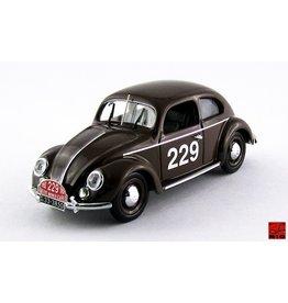 Volkswagen Volkswagen Beetle Maggiolino #229 Rally Monte Carlo 1952 - 1:43 - Rio