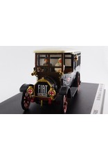 Fiat Fiat 18BL Autobus Red Cross Italy + 2 Figures 1915 100th Anniversary The Great War - 1:43 - Rio