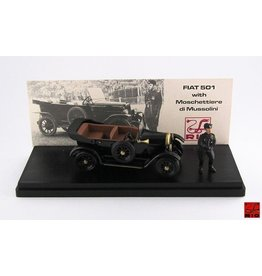 Fiat Fiat 501 Musketeers of the Duce 1925 + Figure  - 1:43 - Rio