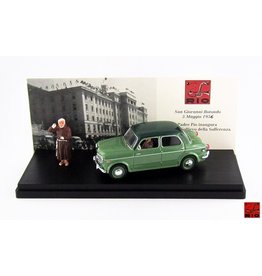 Fiat Fiat 1100/103 TV Father Pio Inauguration Salvation and Suffering Home May 5th 1957 + Figure - 1:43 - Rio