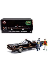Movie Memorabilia Classic TV Series Batmobile + Die Cast Figures - 1:18 - Jada Toys