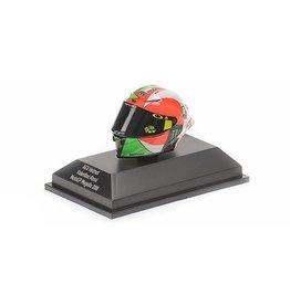 Helm AGV Helmet  V. Rossi MotoGP Mugello 2018 - 1:8 - Minichamps
