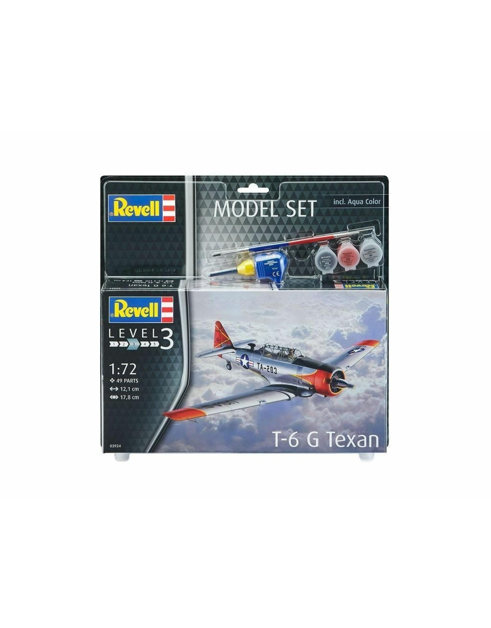 T-6 G Texan + Aqua Color - 1:72 - Revell