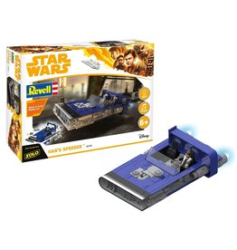Star Wars Han's Speeder - 1:28 - Revell