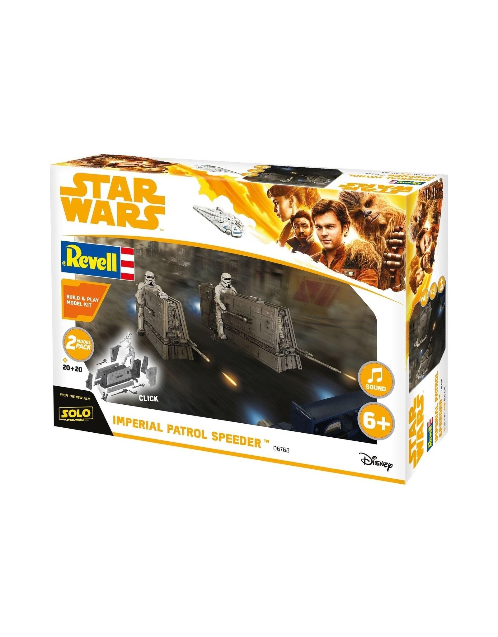 Star Wars Imperial Patrol Speeder - 1:28 - Revell