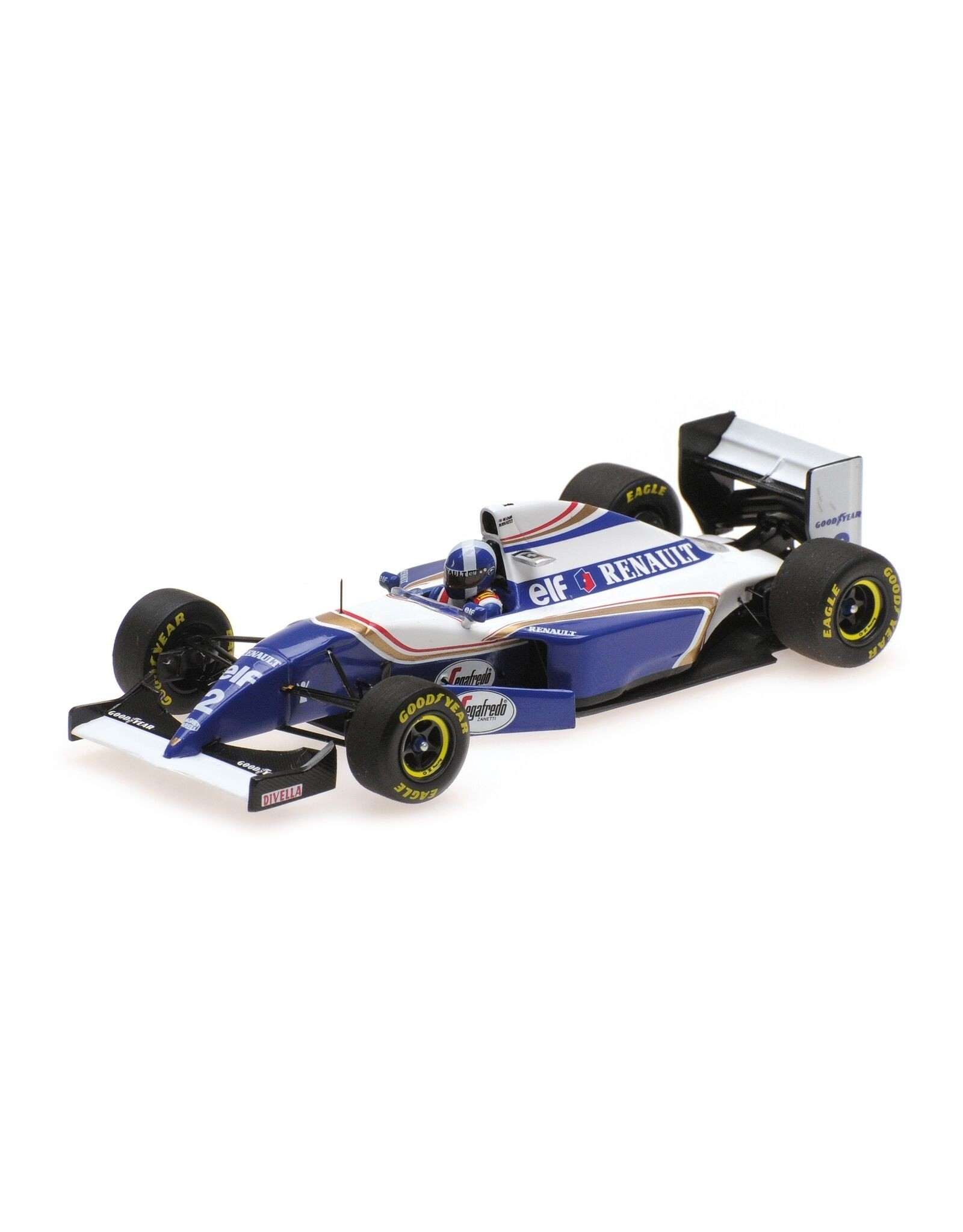Formule 1 Williams Renault FW16 D. Coulthard GP Debut, Spanish GP 1994 - 1:43 - Minichamps