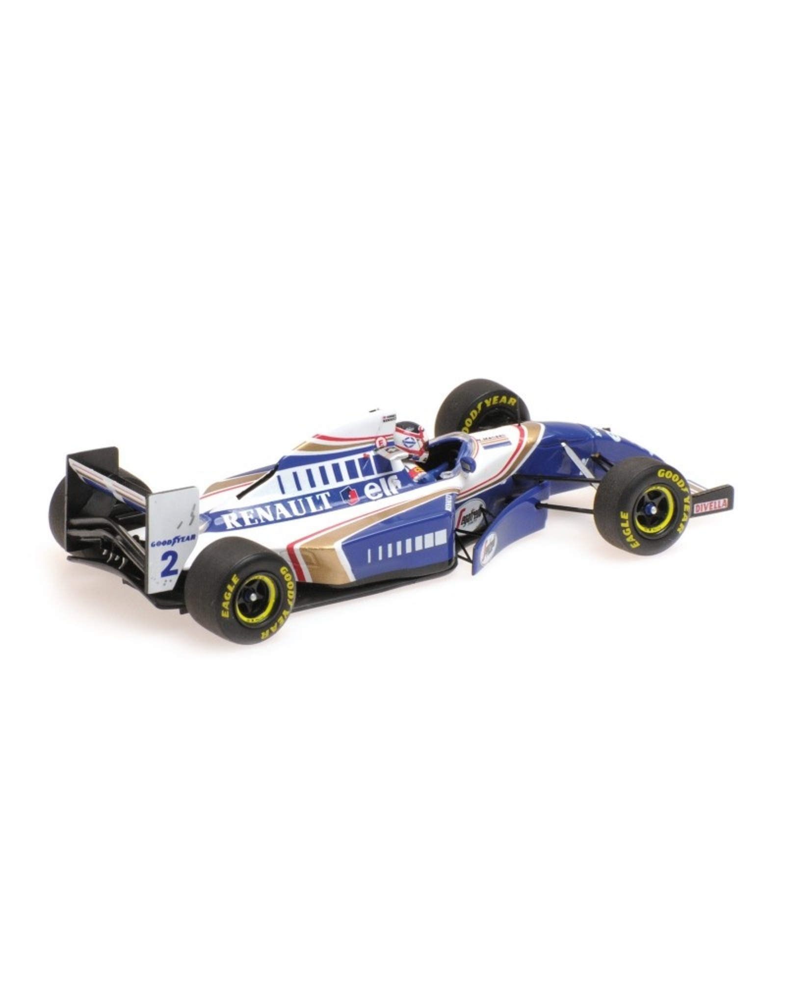 Formule 1 Williams Renault FW16 N. Mansell F1 Comeback, French GP 1994 - 1:43 - Minichamps