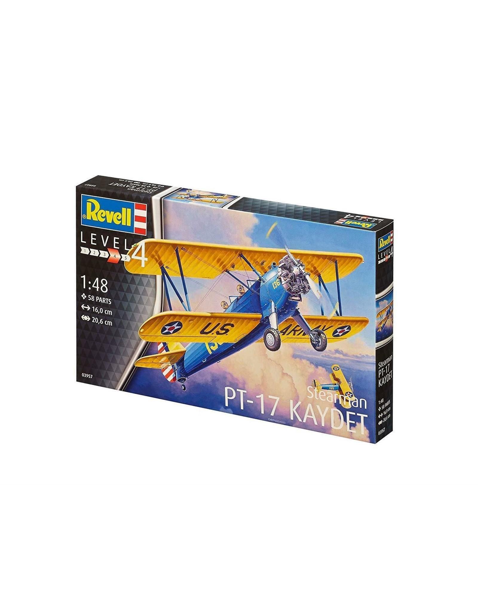 Stearman PT-17 Kaydet - 1:48 - Revell
