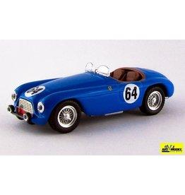 Ferrari Ferrari 166MM 2.0L V12 Spider #64 Team René Bouchard 24h Le Mans 1951 - 1:43 - Art Model