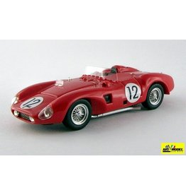 Ferrari Ferrari 625 LM Spider Sucederia Ferrari #12 3rd 24h Le Mans 1956 - 1:43 - Art Model