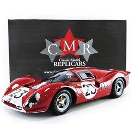 Ferrari Ferrari 412 P #23 Le Mans 1967 - 1:12 - CMR Classic Model Replicars