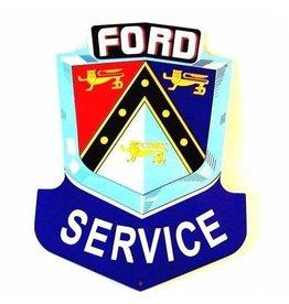 Blikken bord Blikken Bord Ford Service (21 cm x 27 cm)
