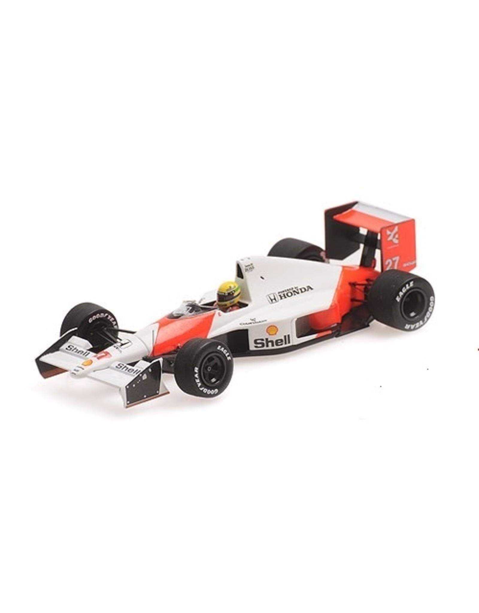 Formule 1 McLaren Honda MP4/5B #27 Elevated Nose Cone Test Car Monza 1990  - 1:43 - Minichamps