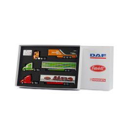 DAF DAF Brand Box (Set): DAF XF - Kenworth - Peterbilt  - 1:50 -  WSI Models