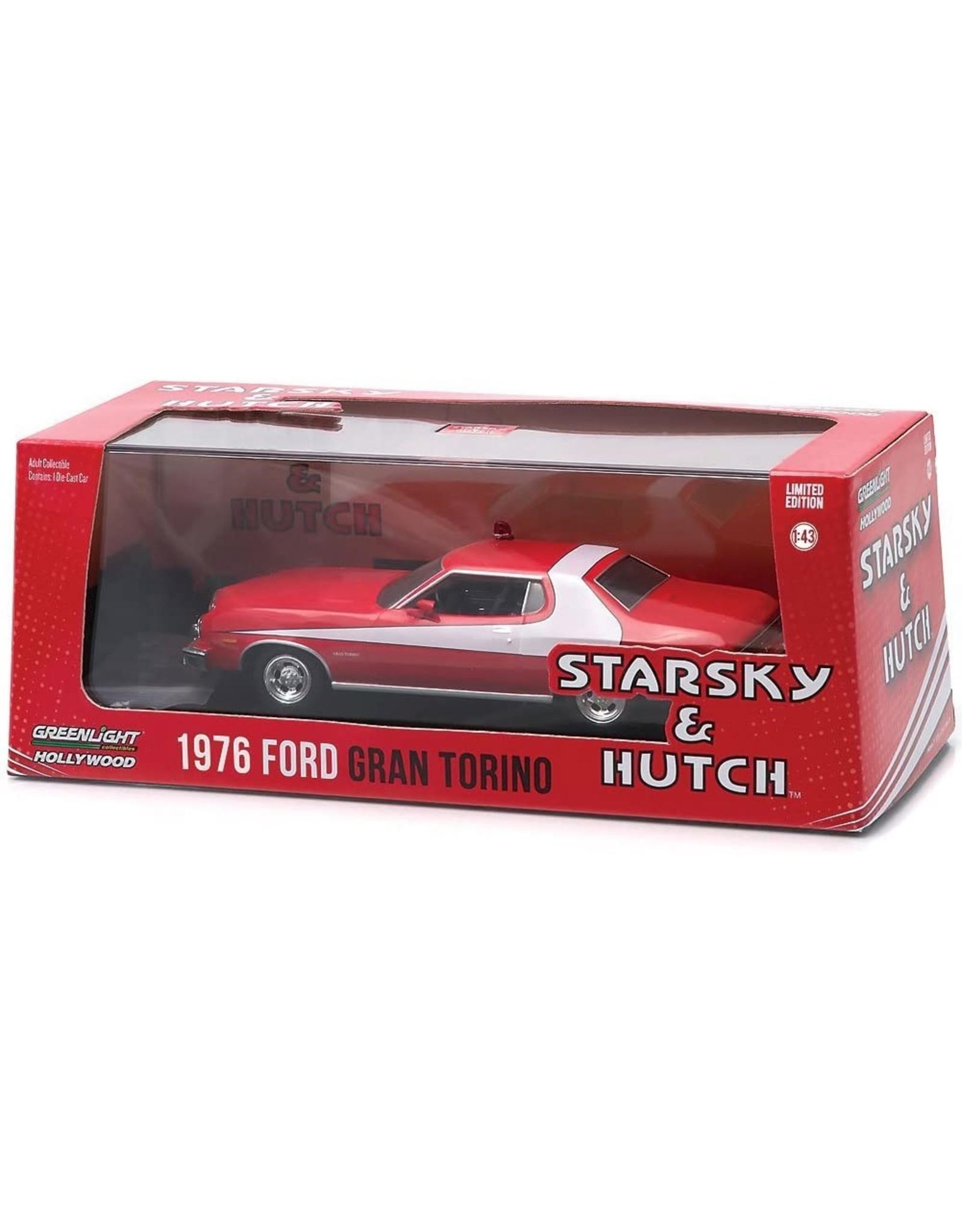 Movie Memorabilia Ford Gran Torino 'Starsky & Hutch' 1976 - 1:43 - Greenlight