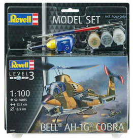 Bell AH-1G Cobra + Aqua Color - 1:100 - Revell