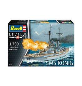 WWI Battleship SMS König - 1:700 - Revell