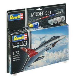 Eurofighter Typhoon Single Seater + Aqua Color - 1:72 - Revell