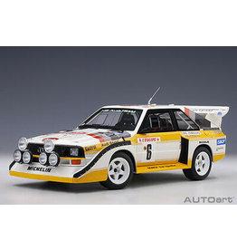 Audi Audi Quattro Sport S1 #6 Rally Monte Carlo 1986 (Night Version) - 1 :18 - AUTOart