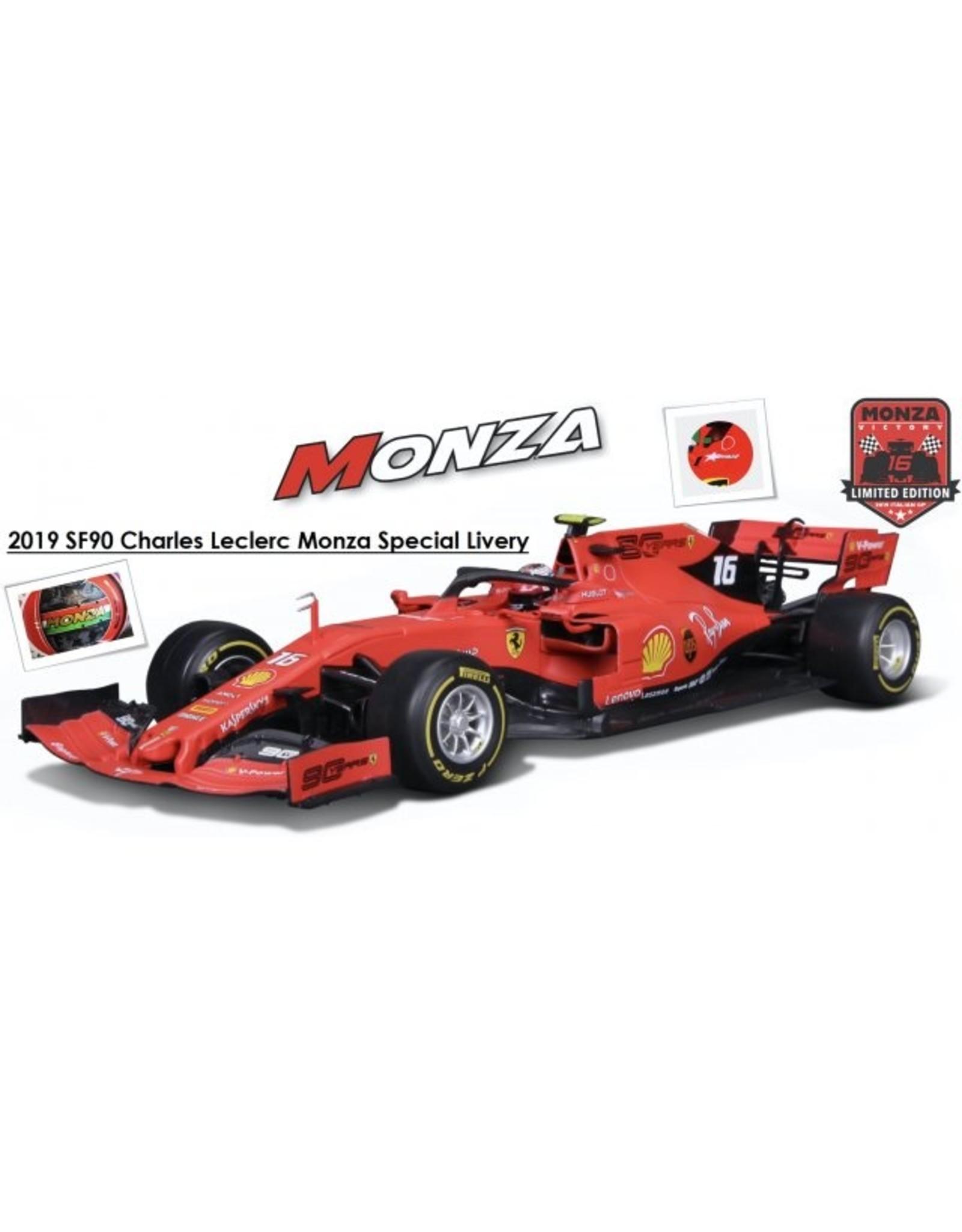 Formule 1 Formule 1 Ferrari SF90 #16 Leclerc Winner Monza 2019 - 1:18 - Bburago