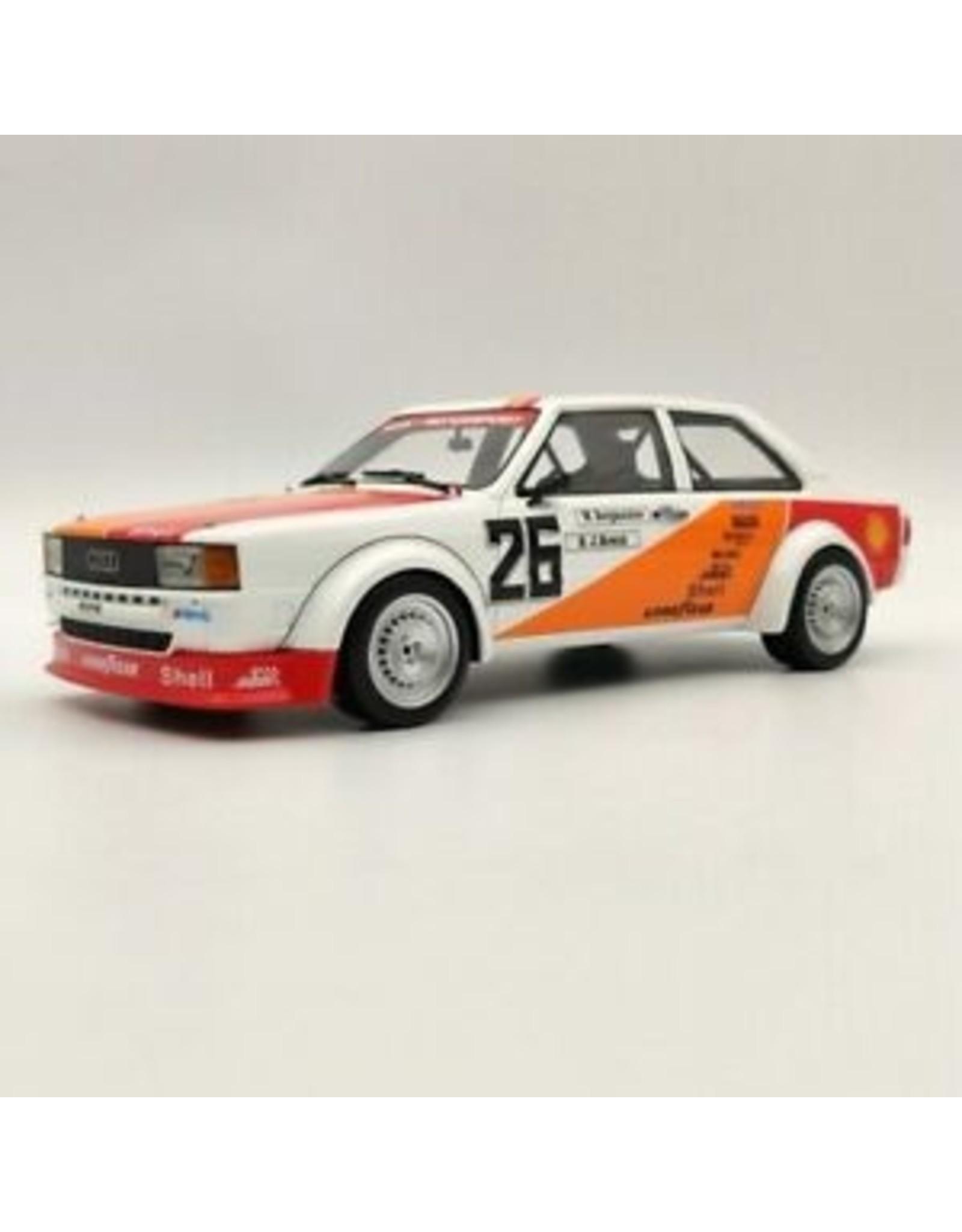 Audi Audi 80 (B2) Gr.2 #26 ETCC Vallelunga (Italy) 1980 - 1:18 - Premium ClassiXXs